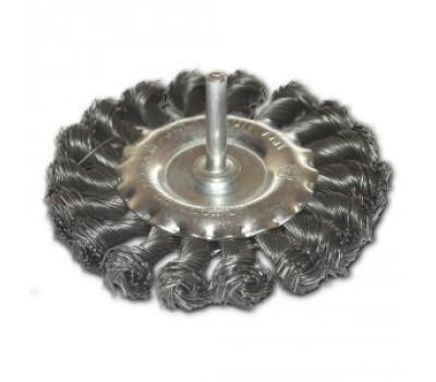 Щетка дисковая плетеная Werk 125 мм (WE107425)