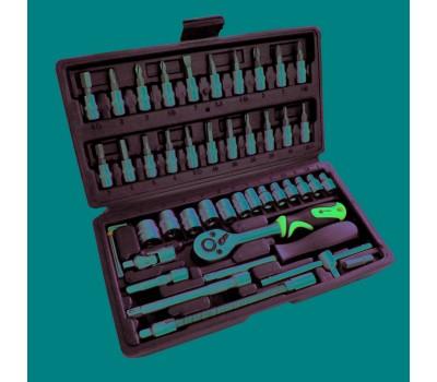 Набор инструментов Сталь 46 предмета (70014)