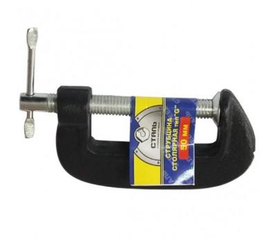 Струбцина столярная Сталь 47117 G-образная 125 мм (55470)