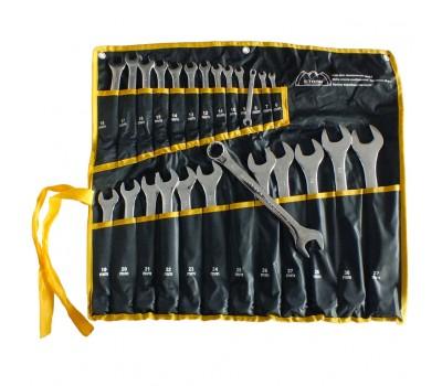 Набор ключей комбинированных Сталь 25 предмета (48034)