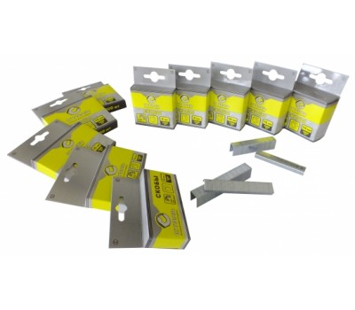 Скобы Сталь Т50 для строительного степлера 8 мм 1000 шт (62122)