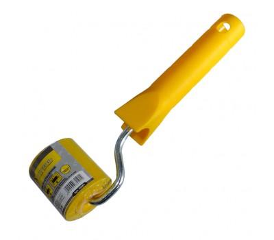 Валик прижимной Сталь обойный с ручкой 40 мм (35501)