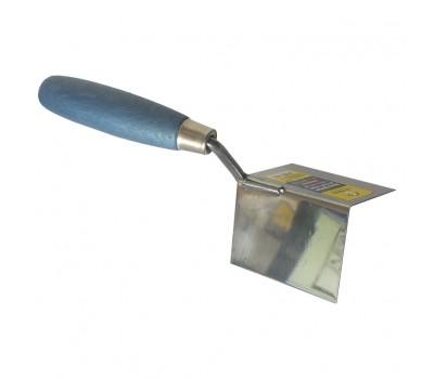Мастерок штукатурный для внутренних углов Сталь 80x60x60 мм (37021)