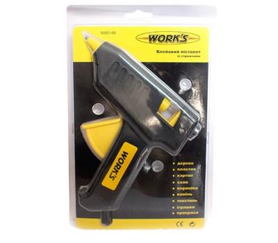 Пистолет клеевой Works W80140 40 Вт