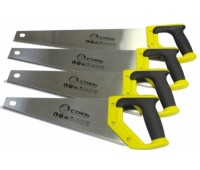 Ножівка по дереву Сталь 40101 з двокомпонентною ручкою 400 мм (40439)