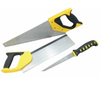 Набір ножівок Сталь 40108 по дер., пасовоч, по гіпсок. 3 пр. (43984)
