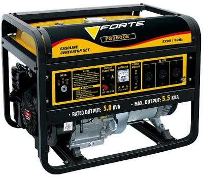 Генератор бензиновый Forte FG3500Е