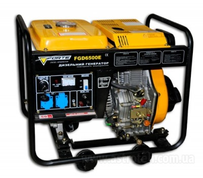 Генератор дизельный Forte FGD6500E