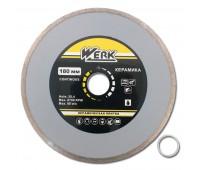 Круг алмазный Werk Ceramics 1A1R по плит. 180x5x25.4 мм (WE110122)