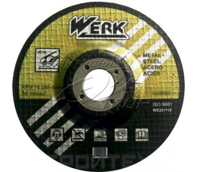 Круг пильный Werk 24 зубцов по дереву 125x22.23 мм (WE109103)