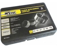 Набор корончатых сверл Werk 9 шт (WE100331)