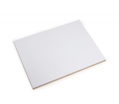 Плита МДФ ламинированная BFC 2800 x 2070 x 18 мм (Белый SM)